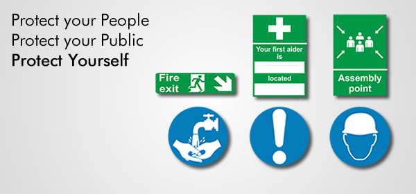 Health Amp Safety Signs Warning Hazard Fire Exit Signs